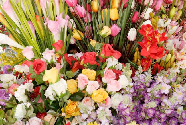Flowers, full frame