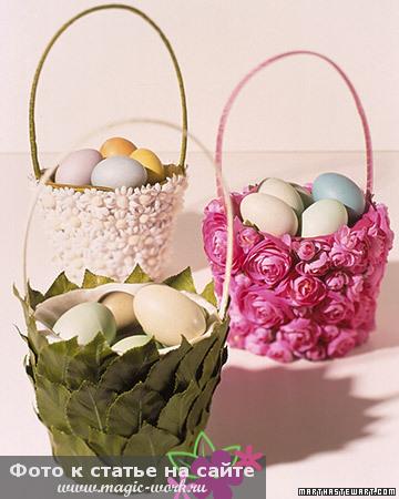 Гнездо с конфетами 1