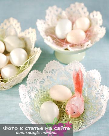 Гнездо с конфетами 3