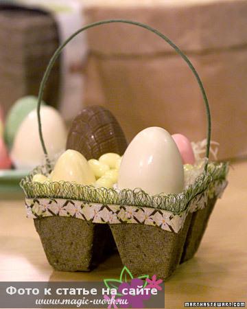 Гнездо с конфетами5