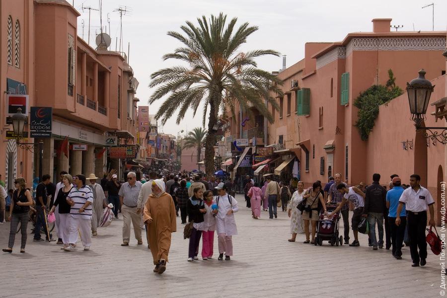 Старый город или Медина marakesh