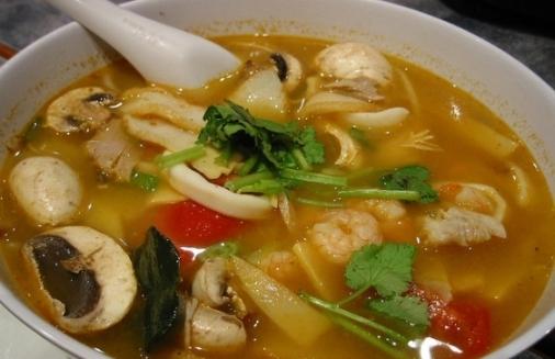Суп с фрикадельками шампиньонами 1
