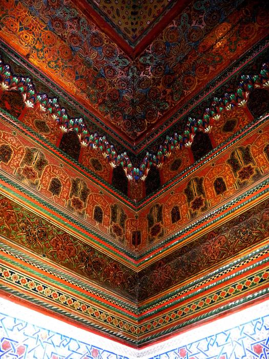 дворце Эль-Бахия