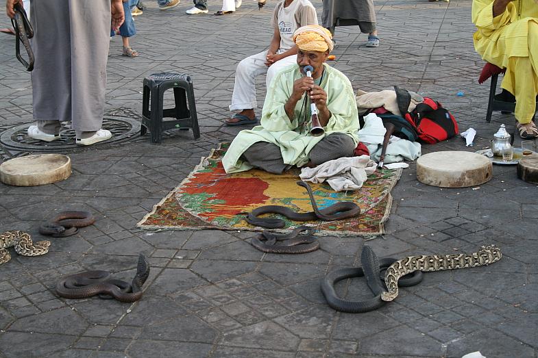 рыночной площади Джемаа Эль-Фна
