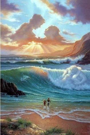Вода прекрасно улавливает человеческие эмоции