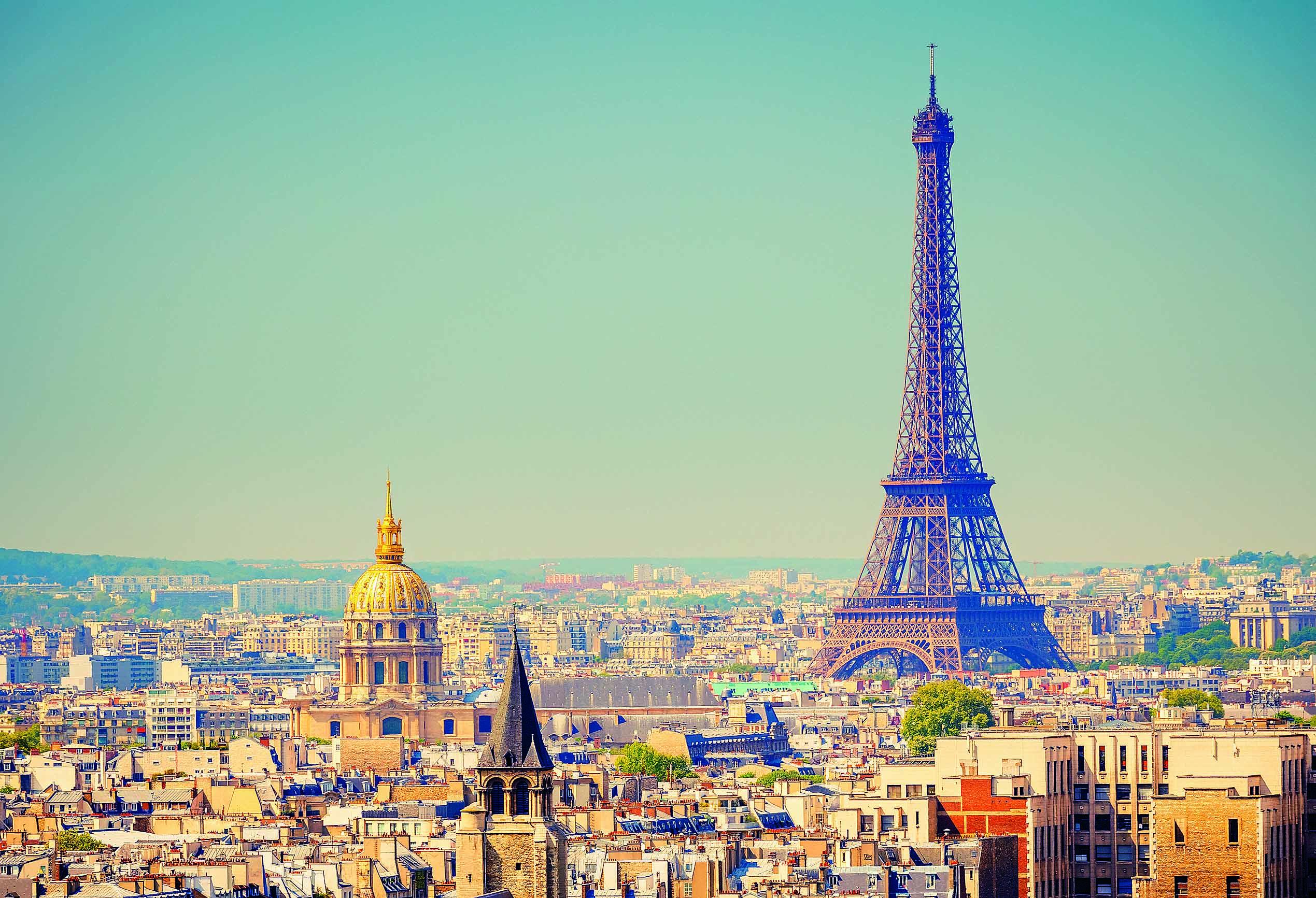 Париж, мировой город
