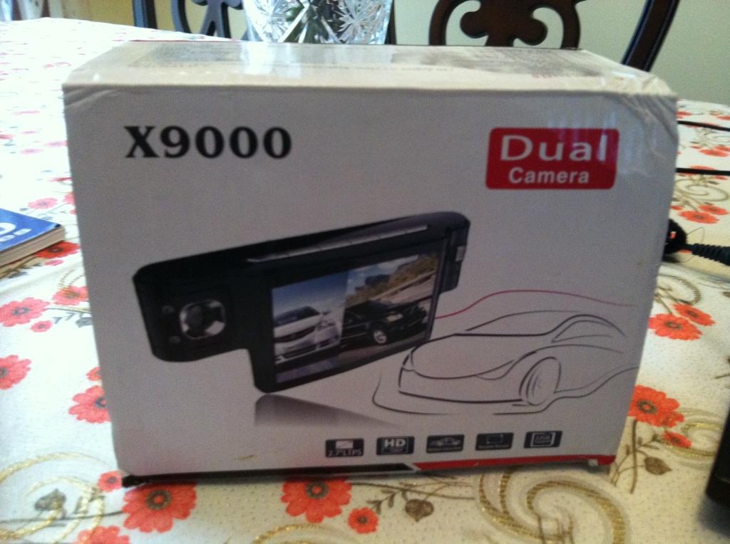 X9000 Dual Camera