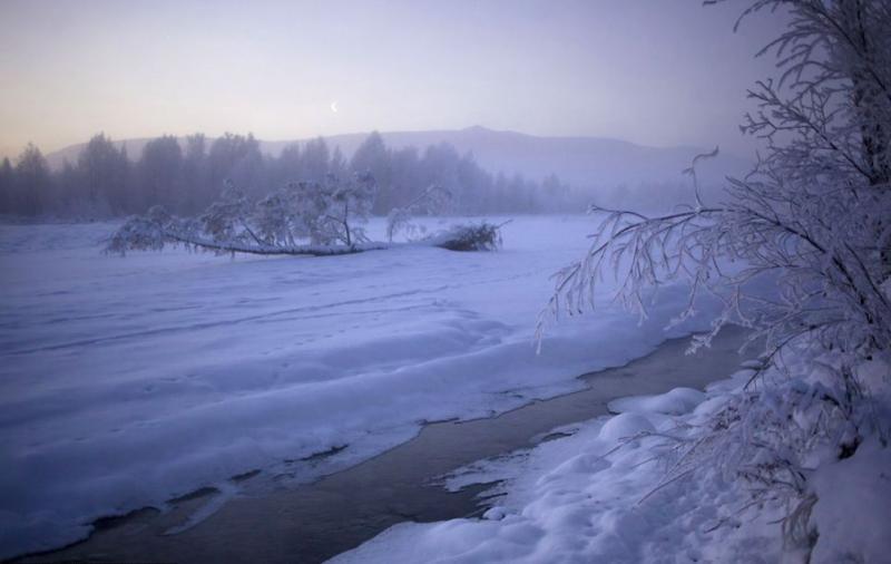 российской деревне Оймякон1