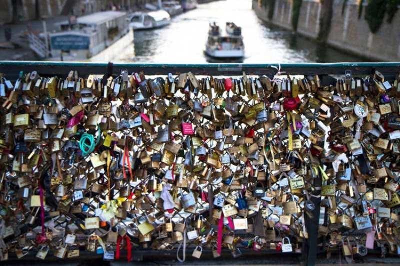 Замочки любви в Италии
