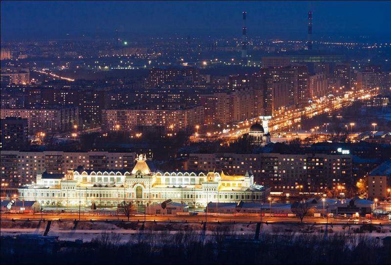 Нижний Новгород и большой город