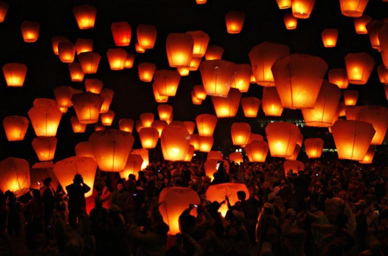 Фестиваль фонарей, Китай