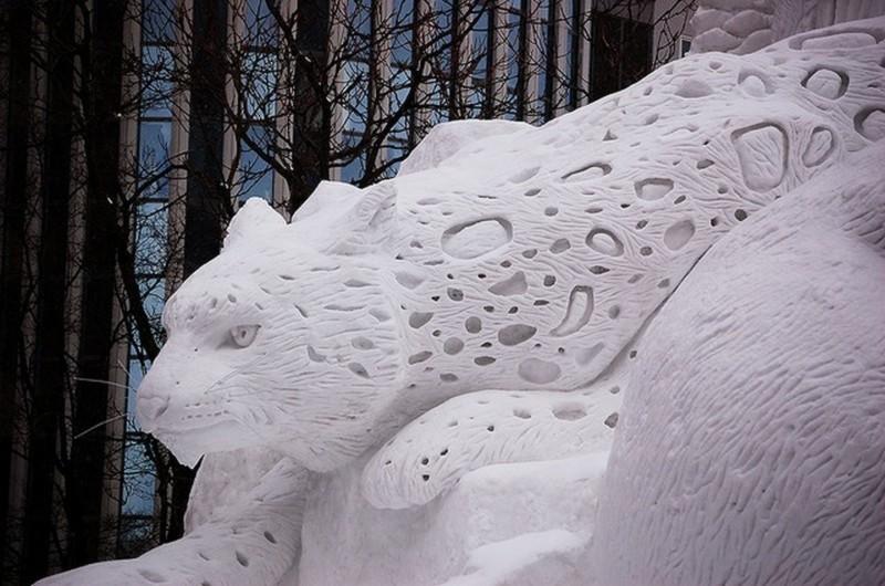 18. Снежный барс.