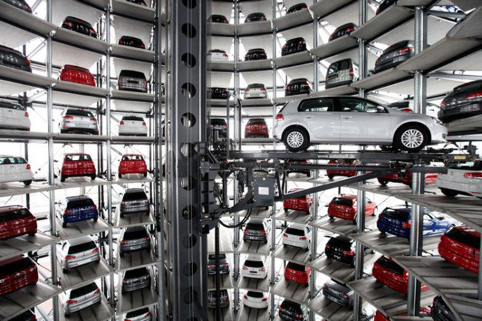Volkswagen в Вольфсбурге
