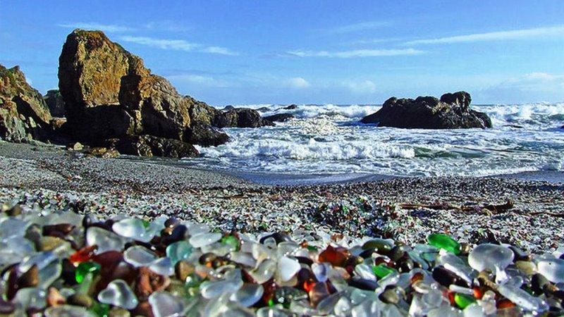 «Стеклянный пляж», Гавайи
