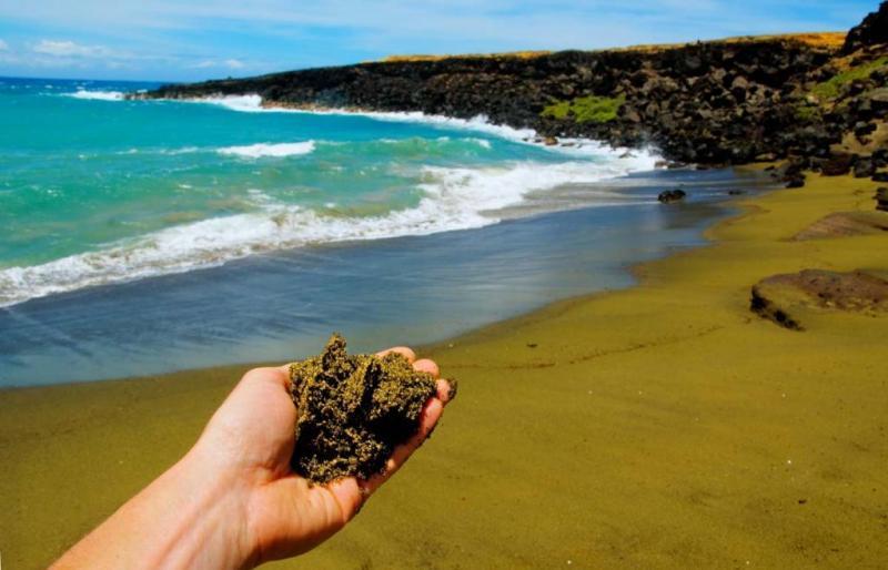 Пляж «Папаколеа», Гавайи
