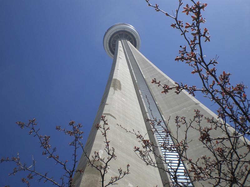 Си-Эн Тауэр, Торонто, Канада1